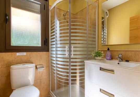 Baño casa rural Carreras Beach, Candeleda