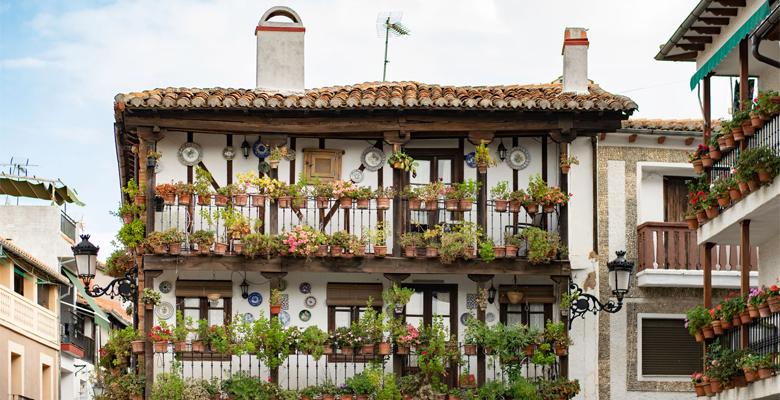 Casa de las flores, Candeleda, Ávila
